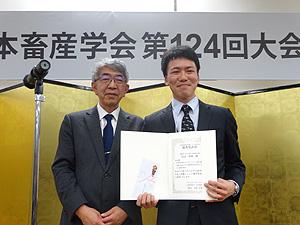 田辺 智樹 会員(北大院環境科学)
